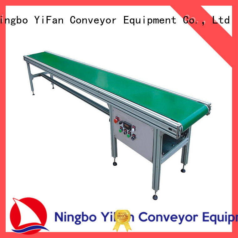 YiFan assembly conveyor belt manufacturers for daily chemical industry