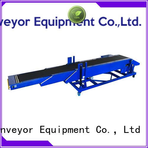 YiFan mobile conveyor belt manufacturer with bottom price for food factory