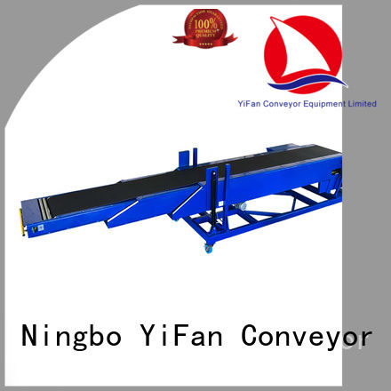 YiFan shop conveyor belt manufacturer widely use for harbor