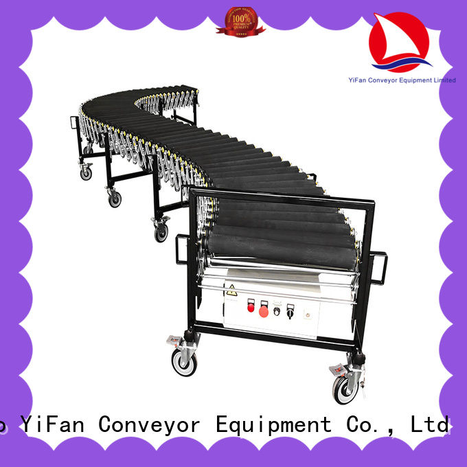 YiFan hot sale flexible gravity conveyor manufacturer for workshop