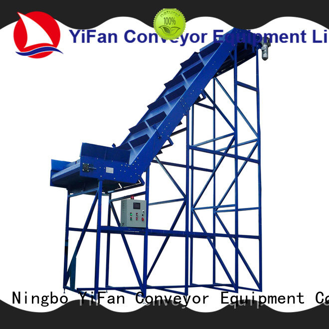 grade belt conveyor manufacturer with good reputation for packaging machine YiFan