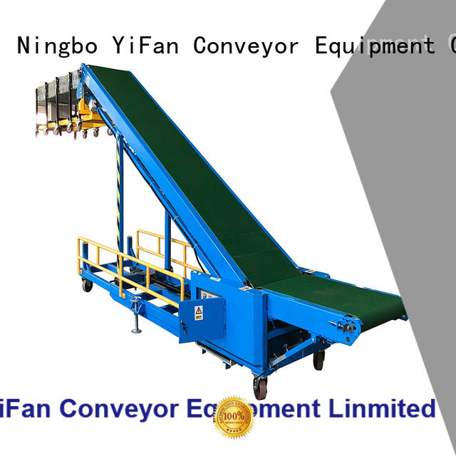 YiFan vehicle truck unloader conveyor China supplier for airport