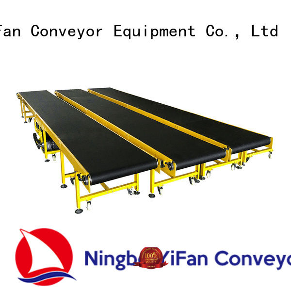 YiFan professional conveyor belt manufacturers awarded supplier for light industry