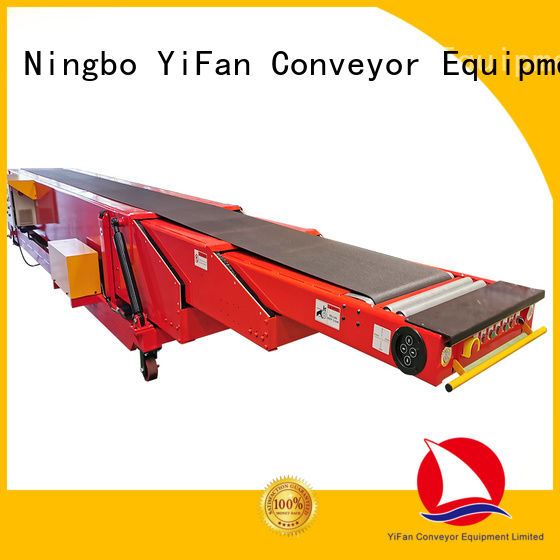 YiFan tail conveyor belt machine widely use for storehouse