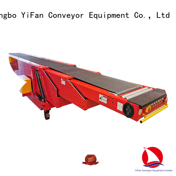 YiFan stages conveyor system manufacturers widely use for harbor
