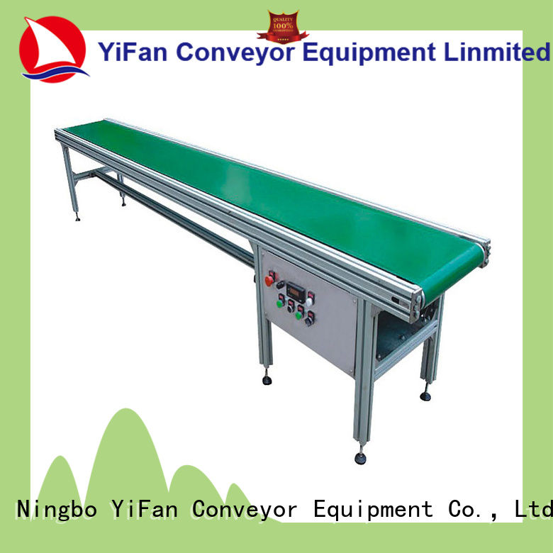 YiFan china manufacturing roller belt conveyor manufacturers awarded supplier for packaging machine