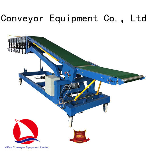 YiFan automatictrailer portable conveyor system manufacturer for warehouse