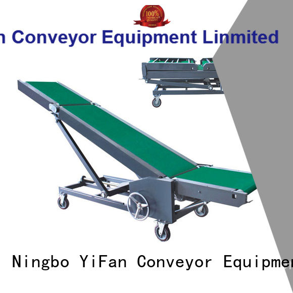 YiFan foldable loading conveyor China supplier for airport