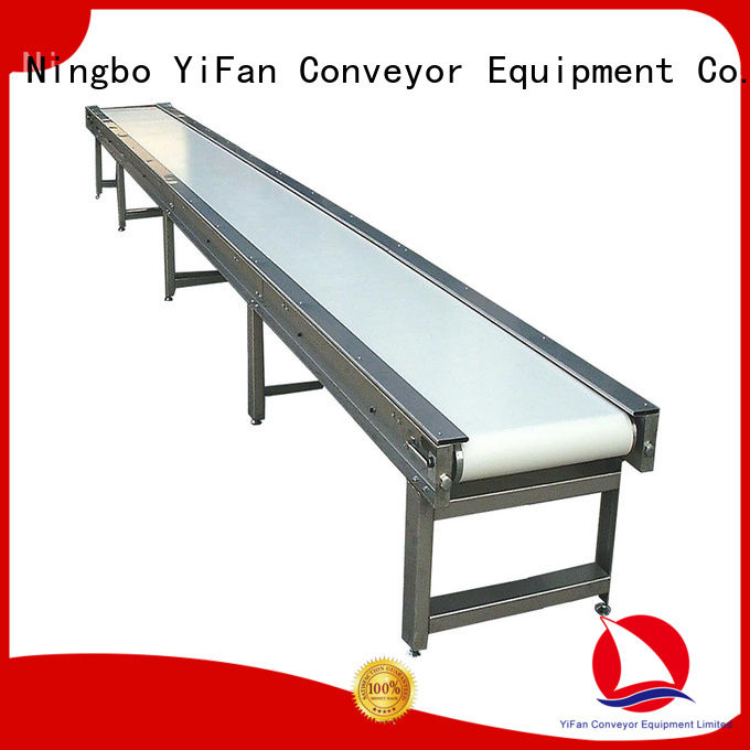 YiFan china manufacturing belt conveyor manufacturer awarded supplier for food industry
