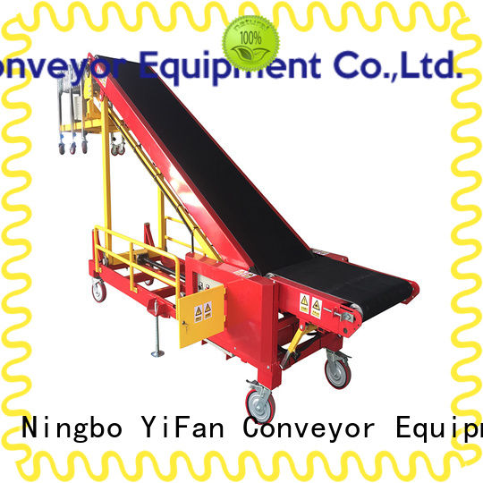 YiFan automatic trailer loading conveyor manufacturer for warehouse