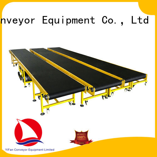 YiFan most popular belt conveyor manufacturer purchase online for logistics filed