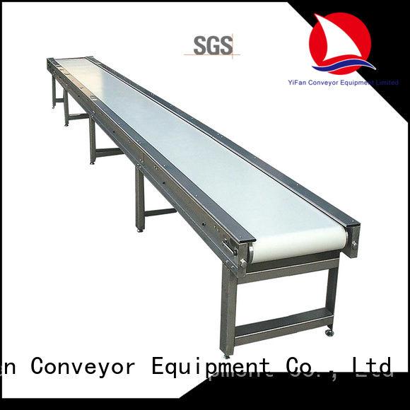 YiFan 2019 new designed magnetic belt conveyor manufacturers for medicine industry