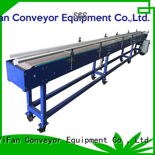 YiFan shop slat conveyor popular for medicine industry