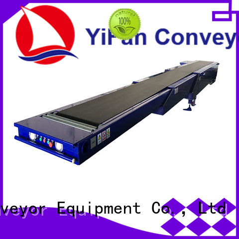 YiFan container extendable conveyor belt competitive price for storehouse