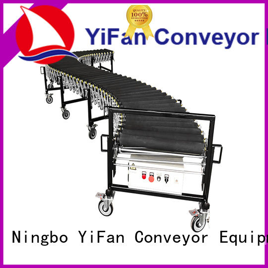 professional flexible gravity conveyor belt from China for harbor