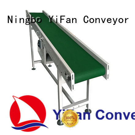 steel conveyor systems with bottom price for packaging machine YiFan