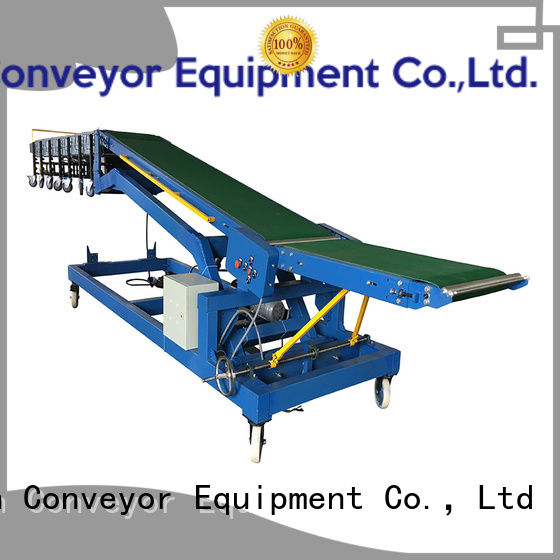 2019 new loading unloading conveyor system vehicle China supplier for warehouse