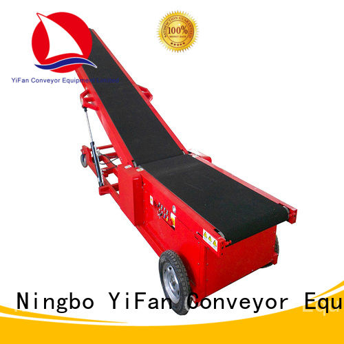YiFan foldable portable conveyor system chinese manufacturer for dock