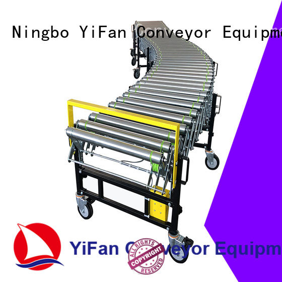 YiFan coated flexible motorized roller conveyor factory for factory