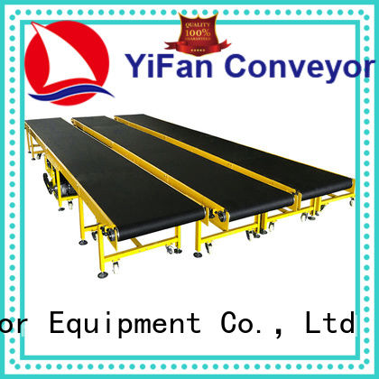 YiFan 2019 new designed conveyor belt suppliers with bottom price for packaging machine