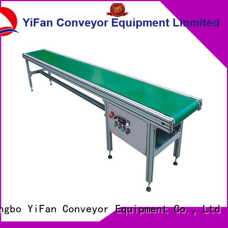 YiFan most popular conveyor belt manufacturers with good reputation for packaging machine