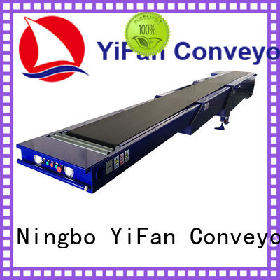 shop telescopic belt conveyors stages widely use for workshop