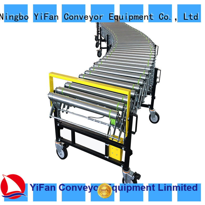 YiFan automatic automated flexible conveyor request for quote for factory