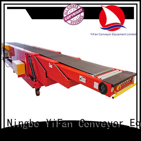 YiFan 40ft container loading platform for workshop