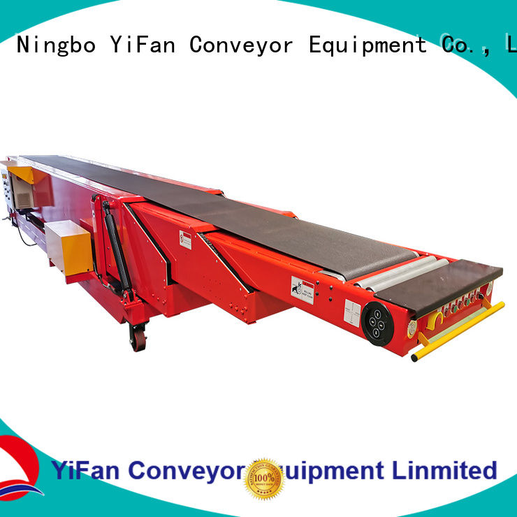 YiFan wholesale cheap extendable conveyor belt widely use for mineral