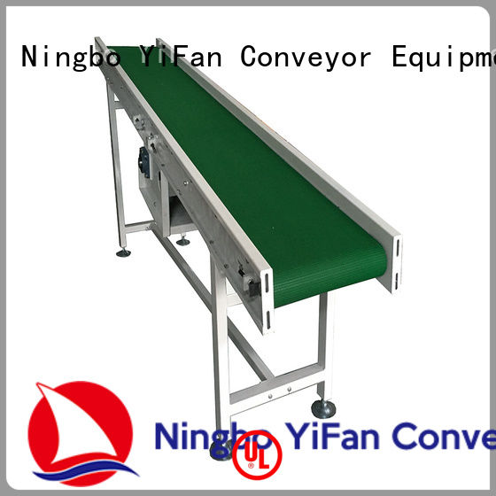 YiFan china manufacturing belt conveyor manufacturer purchase online for daily chemical industry