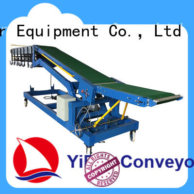 YiFan good truck loading belt conveyor chinese manufacturer for dock