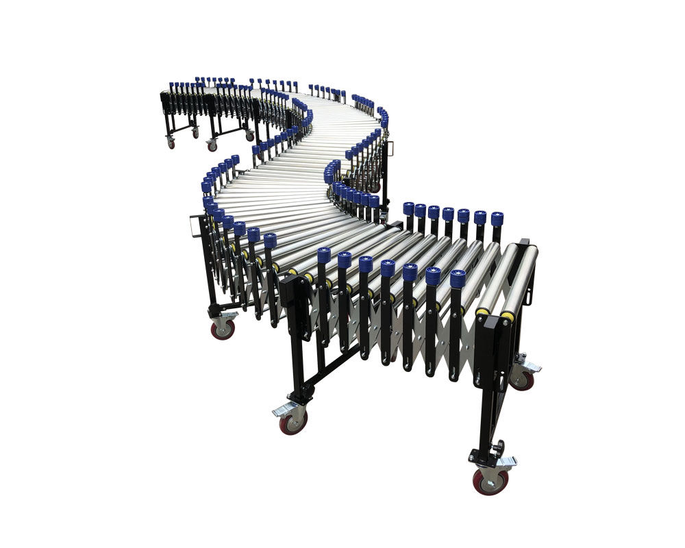 Wholesale Heavy Duty-Flexible Gravity Roller Conveyor