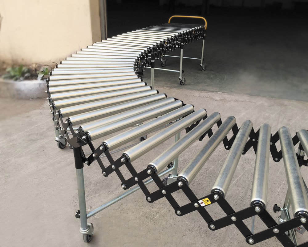 YiFan Wholesale gravity roller conveyor company for warehouse logistics-2