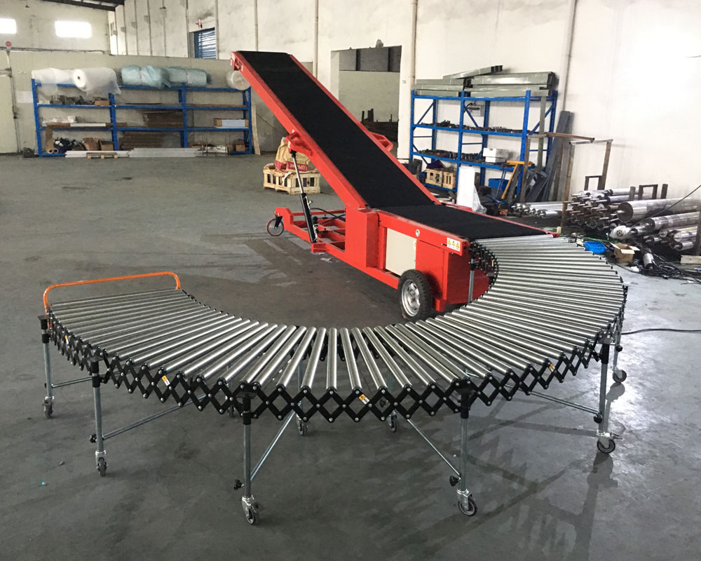 YiFan Wholesale gravity roller conveyor company for warehouse logistics-1