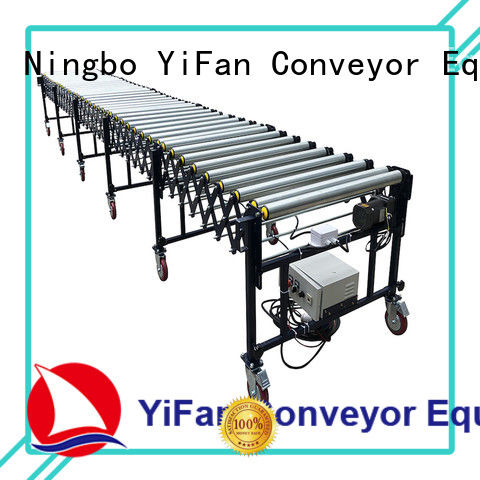 YiFan conveyor flexible motorized roller conveyor factory for factory