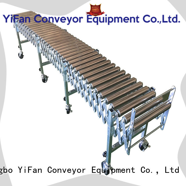 YiFan 5 star services gravity roller conveyor supplier for-sale for warehouse logistics