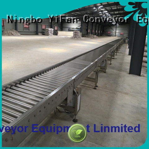 YiFan best roller conveyor suppliers from China for warehouse