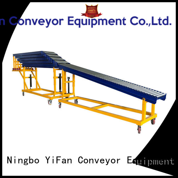 YiFan container powered roller conveyor system china manufacturing for warehouse