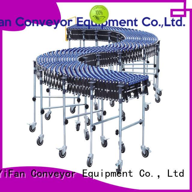 YiFan wheel conveyor for warehouse