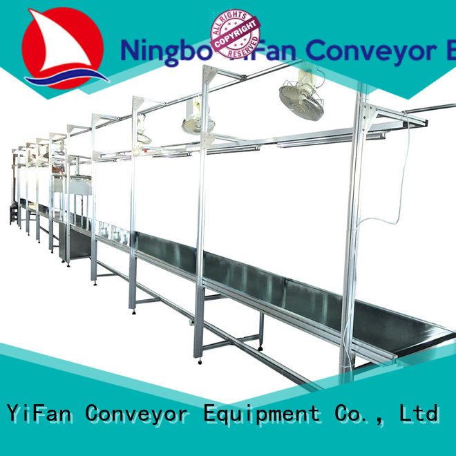 YiFan stainless conveyor system awarded supplier for light industry