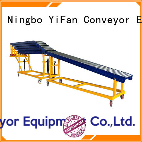 YiFan best selling portable roller conveyor factory price for dock