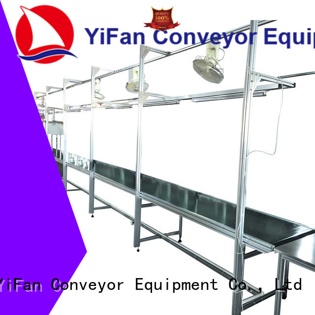 professional belt conveyor degree with bottom price for daily chemical industry