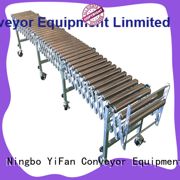 YiFan pvc flexible roller conveyor supplier for industry