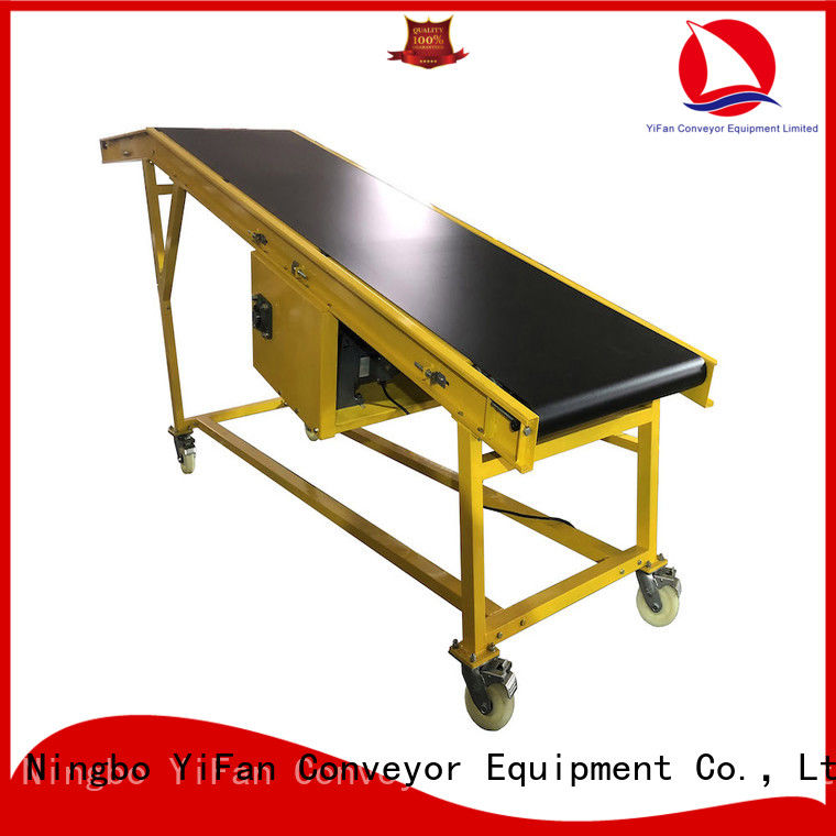 YiFan 2019 new truck loading belt conveyor China supplier for dock