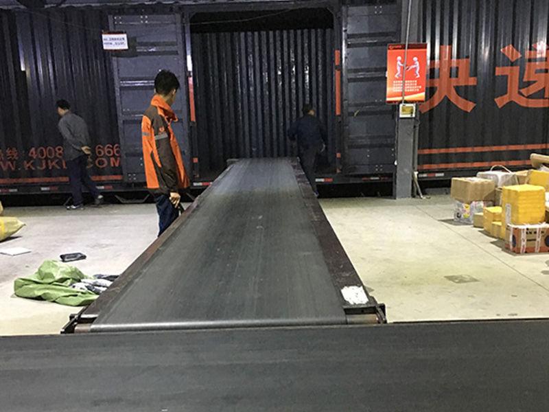 Shanghai Express Company use the YiFan conveyor company's product