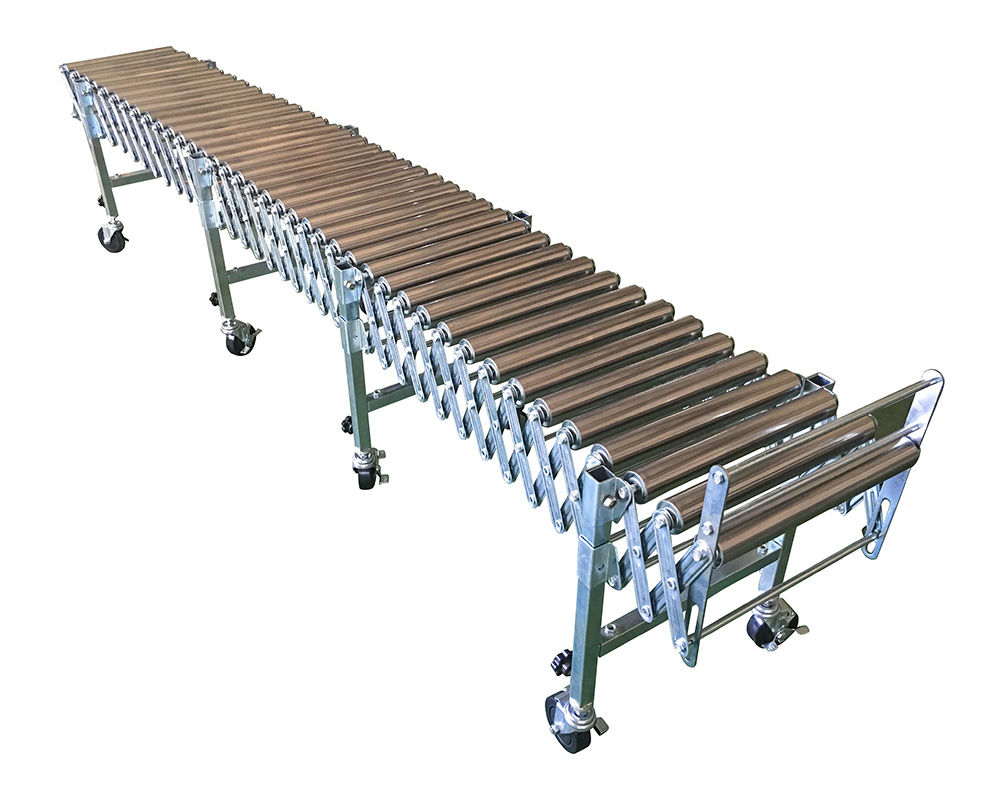 Flexible Gravity Stainless Steel 304 Roller Conveyor