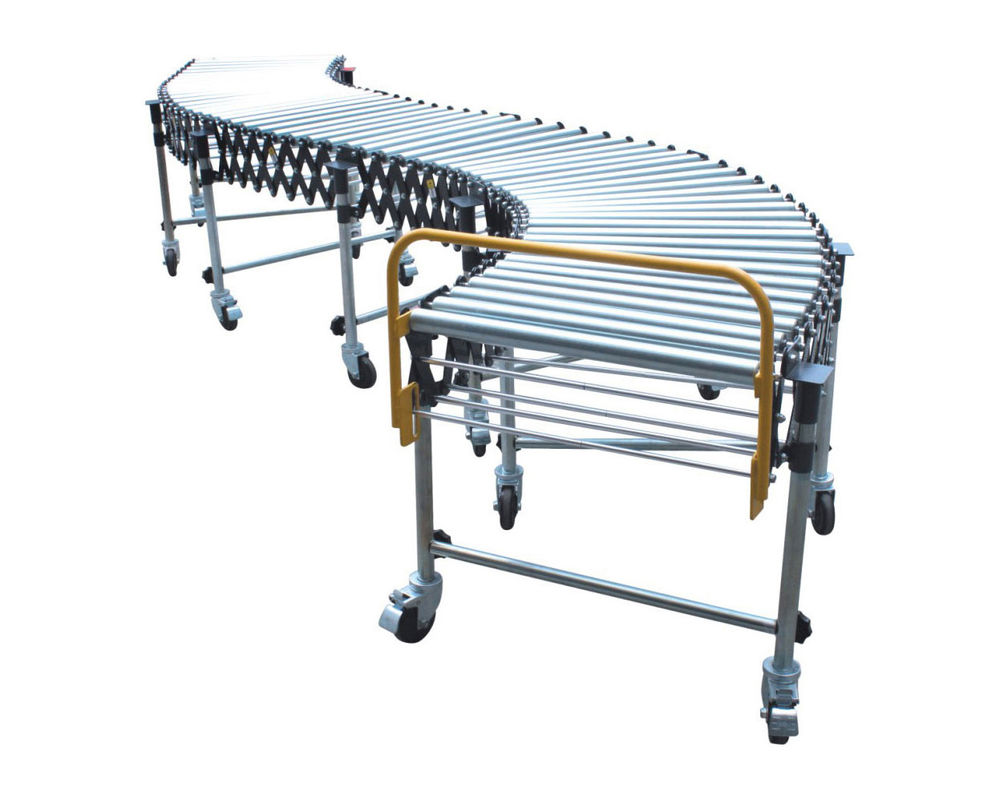 Medium Duty-Flexible Gravity Steel Roller Conveyor