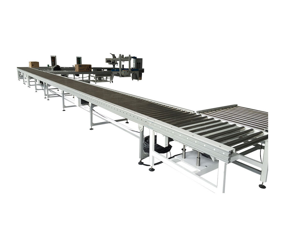 Aluminum Motorized Roller Conveyor