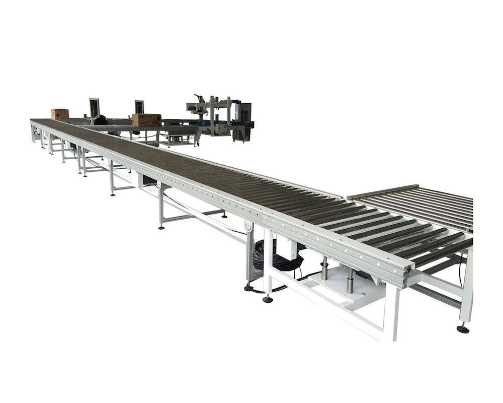 Aluminum Motorized Roller Conveyor