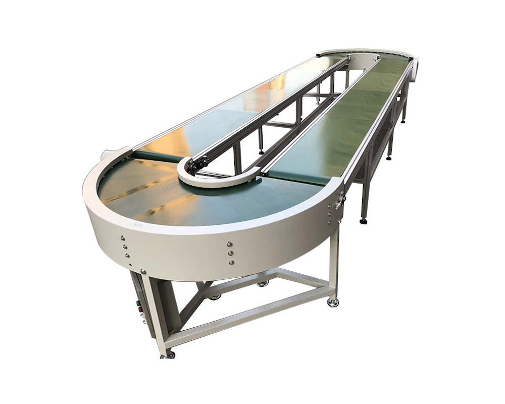 90 & 180 Degree Curve Belt Conveyor
